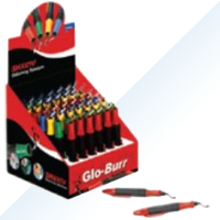 GLO-BURR B/E 48pc Assortment Kits